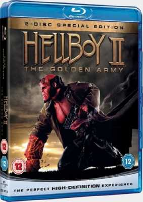 Хеллбой II: Золотая Армия / Hellboy II: The Golden Army (2008/RUS/ENG) BDRip 720p + UA-IX