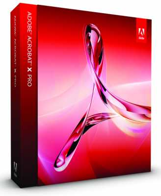 Adobe Acrobat X Professional v 10.0.0.396 ML RUS