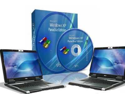 Windows XP SP3 Paradise-XP DVD Edition 2011.2 Rus