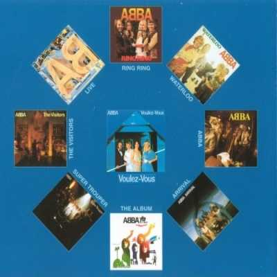 ABBA Discography (АББА Дискография) - 9 CD (Digitally Remastered)